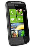 HTC 7 Mozart leírás adatok