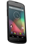 LG Nexus 4 E960 leírás adatok