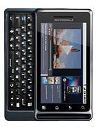 Motorola MILESTONE 2 leírás adatok