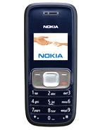 Nokia 1209 leírás adatok