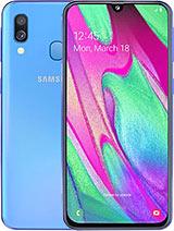 Samsung Galaxy A40 leírás adatok