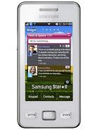 Samsung Star II S5260 leírás adatok