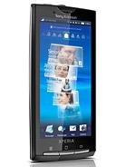 Sony Xperia X10 leírás adatok