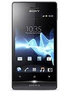 Sony Xperia miro leírás adatok