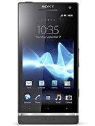 Sony Xperia S leírás adatok