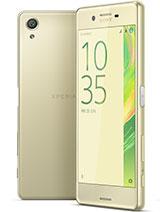 Sony Xperia X leírás adatok
