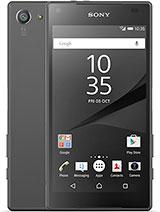 Sony Xperia Z5 leírás adatok