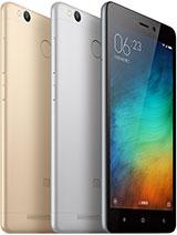 Xiaomi Redmi 3s Prime leírás adatok
